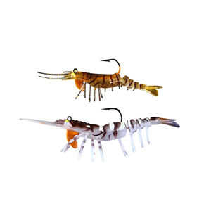 ECOODA Super Shrimp Fishing Lures Sinking Soft Lure Jigging Lure