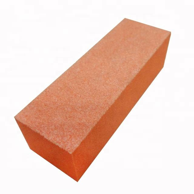 Disposable 3 sides nail Buffer block sanding block for spa nail care