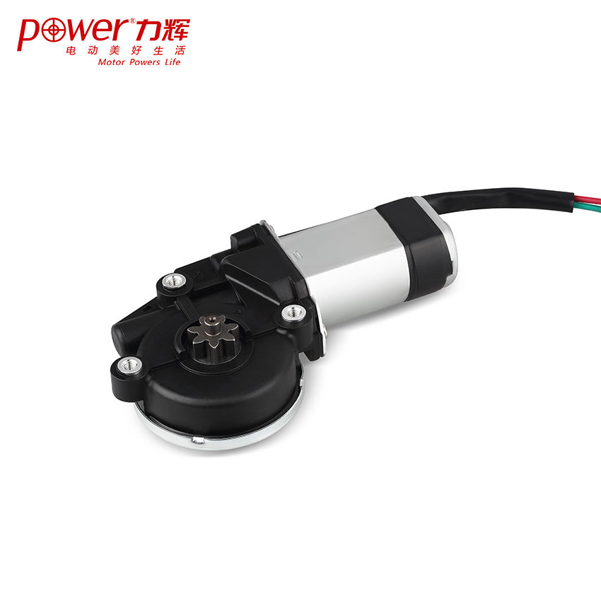 Factory hot sale 12v dc pump motor high torque geared electric for Window sunroof
