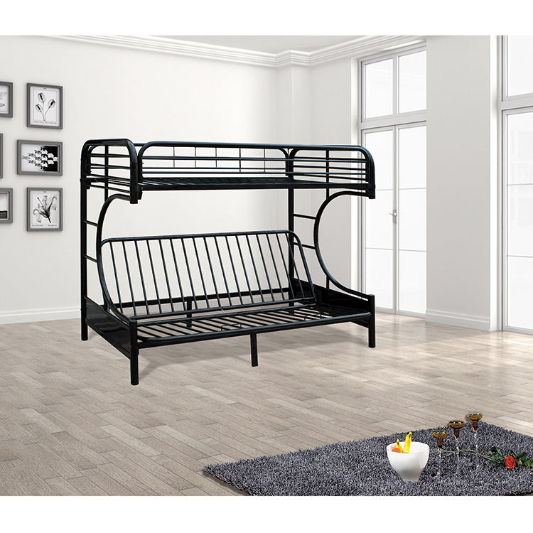 Single House Military Platform Full Size Bunk Set Cot Double Adult Twin Over Modern Bed Frame, Double Bunk Bed For Adult
