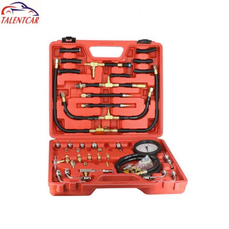 Nice Price Fuel Pressure Test Kit full set tu-443 Fuel Pressure Tester Kit