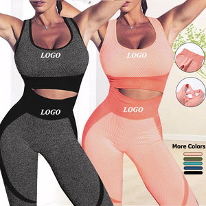 Seamless Workout Clothes Workout Clothing Women Gym Fitness Clothing Womens Two Piece Set