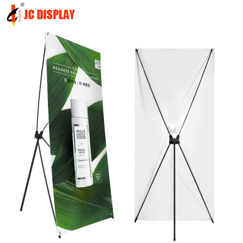 Economic Display Large Stand Standing X Banner Size