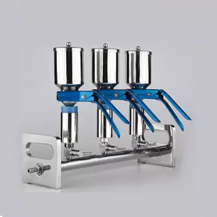 Stainless Steel manifolds vacuum filtration