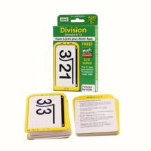 WJPC - Specialize Educational Custom Design Flashcards In Math Wholesale Multiplication Flash Cards