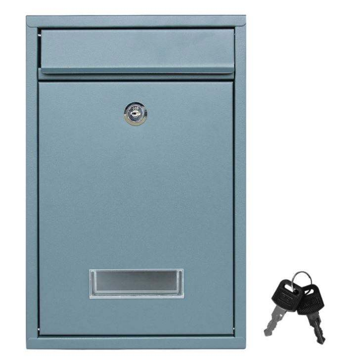 OEM Outdoor Mailbox European Aluminum Wall Mounted Mail Box Post Box Secure Letterbox Outside Mailboxes