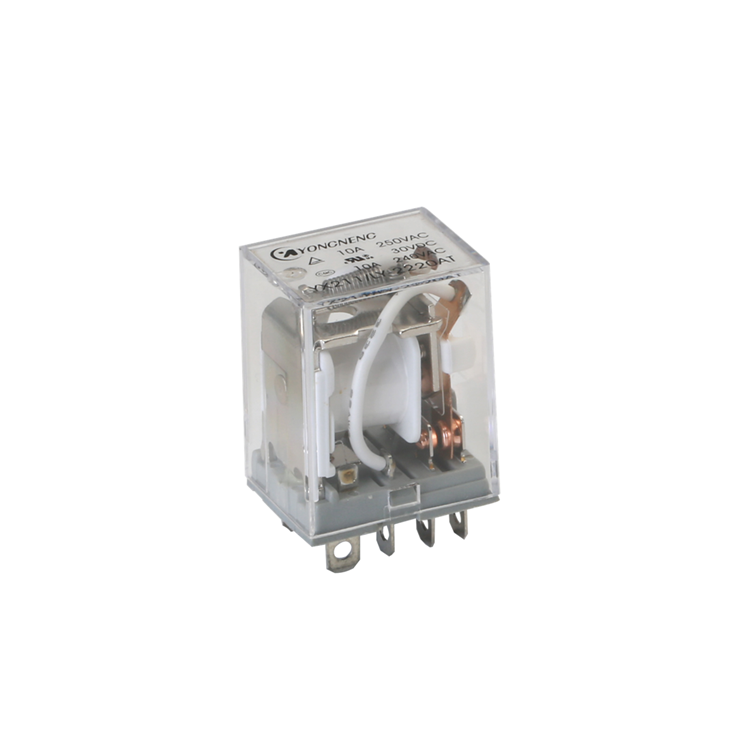Larga vida fabricante 10A 6V 12V 24V 110V 220V 380V de propósito General Flasher relay