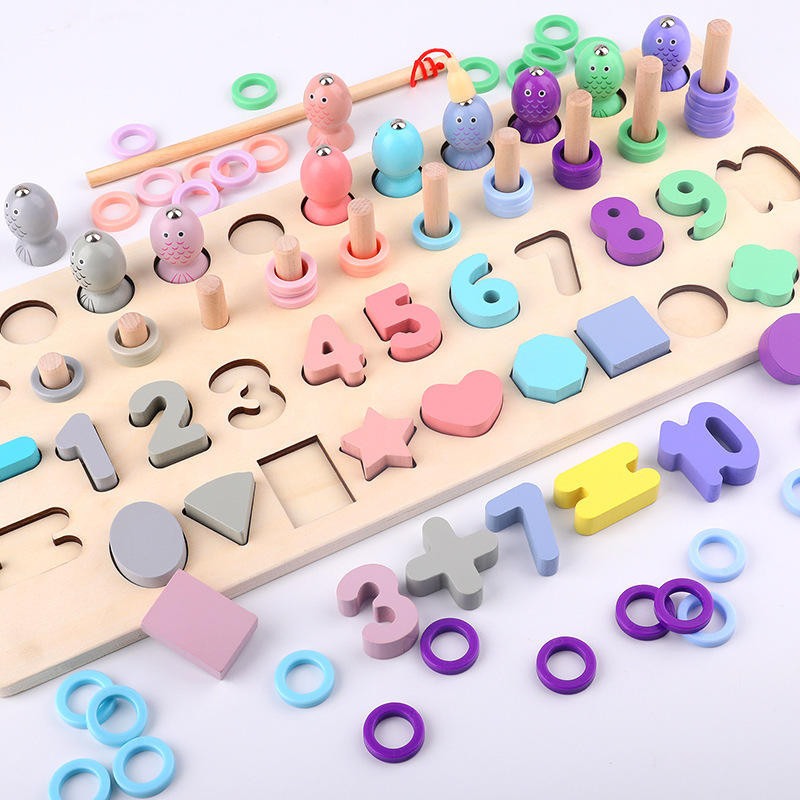 Alphabet Puzzle Set WOOD ABC Letter & Number Puzzles for Toddlers 1 2 3 Years Old Kids Gift Educational Learning Toys