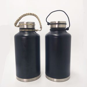 Double Wall Vacuum Insulated Stainless Steel 2l Bir Growler Botol