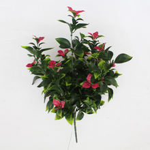 Wholesale Nine Heads Of Gardenias Bougainvillea Homes Decorate Artificial Flowers