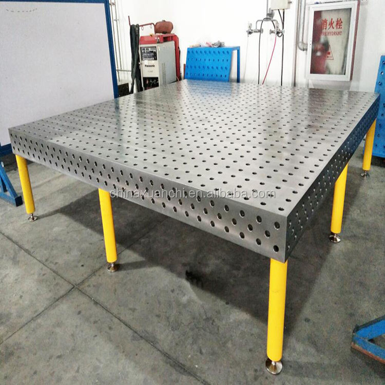 3d welding table soldering station,Q345 steel welding table d28/d16