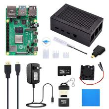 Raspberry Pi 4 Starter Kit (4G RAM) with Aluminum Alloy Case and SD Card raspberry pi 4 1GB/2GB/4GB