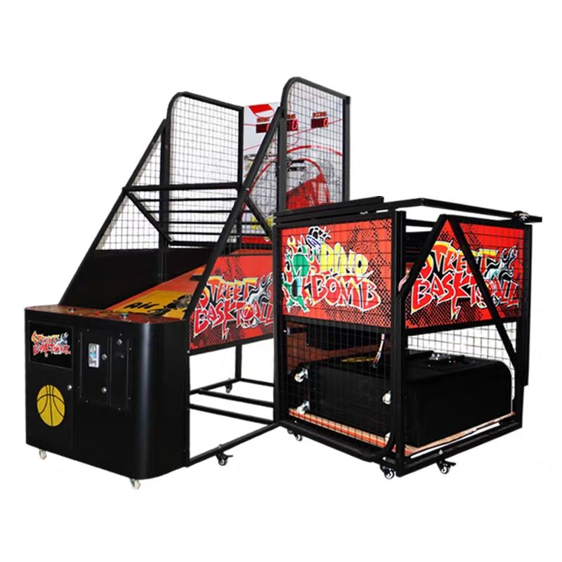 Coin Operated Crazy Hoepel Indoor <span class=keywords><strong>Basketbal</strong></span> Schieten <span class=keywords><strong>Arcade</strong></span> <span class=keywords><strong>Game</strong></span> <span class=keywords><strong>Machine</strong></span> Voor Verkoop