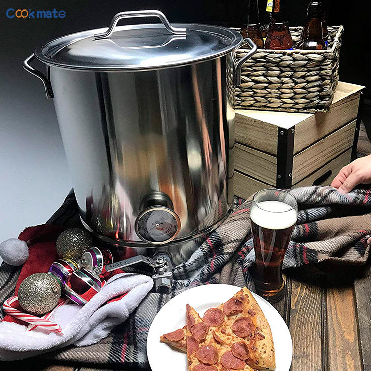 Cookmate 25L 30L 40L 60L Stainless Steel All In One Brewing System DIY Beer Brewing Equipment