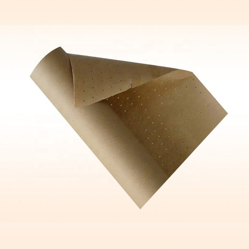 Recycled pulp punched paper for clothing factory