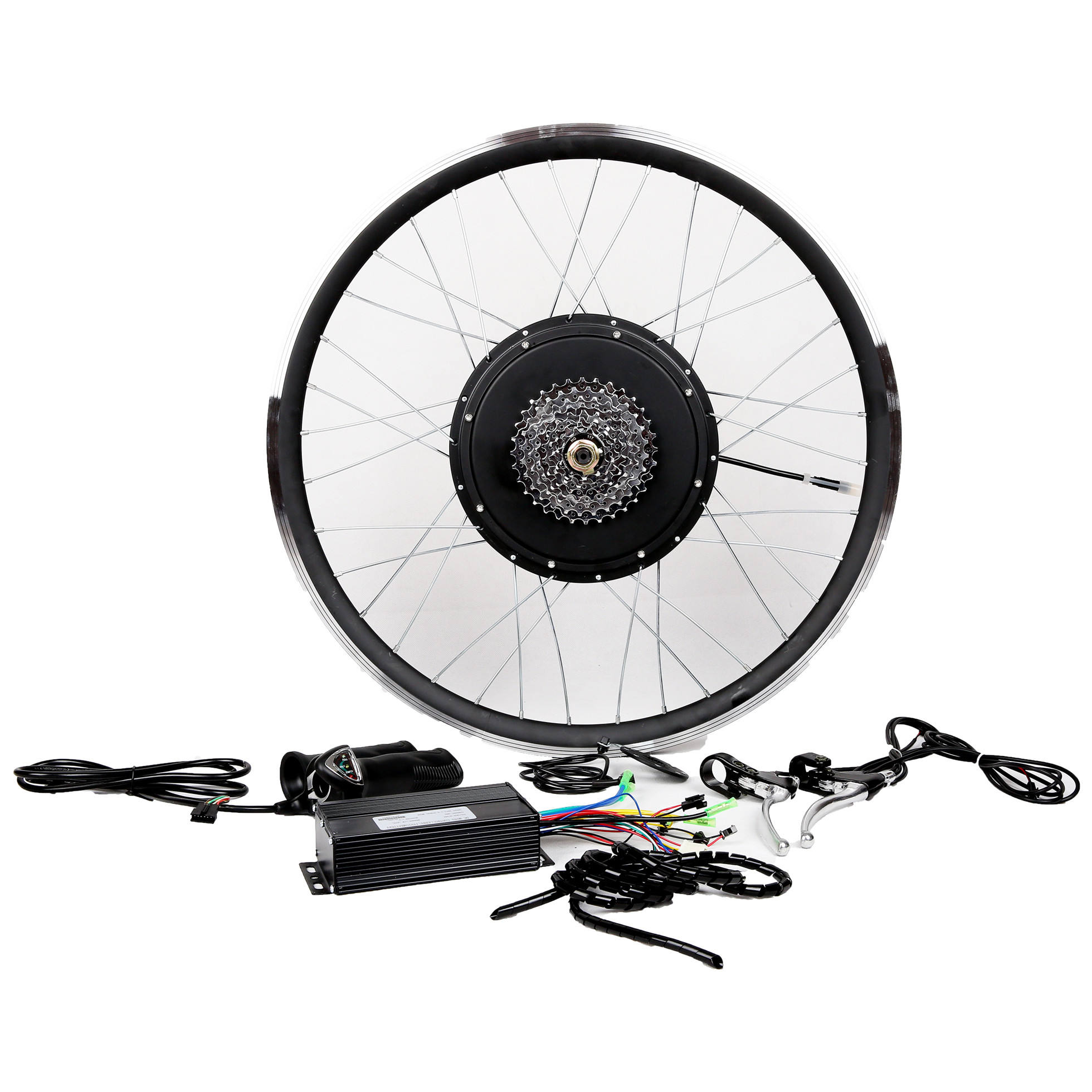 Quick delivery 48V 1000W electric bicycle bike conversion kit cyclon electric e-bike ebikes front rear wheel hub motor kit