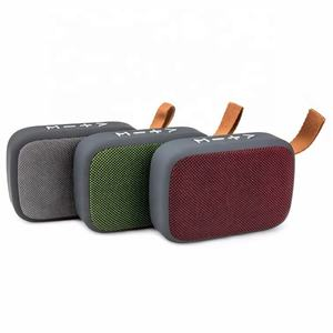 Wholesale Usb Aux Handfree Bass Stereo Outdoor Home Mp3 Subwoofer Sound Box Music Wireless Portable Bluetooth Mini Speaker