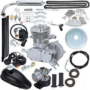 48cc 49cc 50cc 60cc 66cc 80cc Gas 2 stroke gasoline engine kit 80 cc