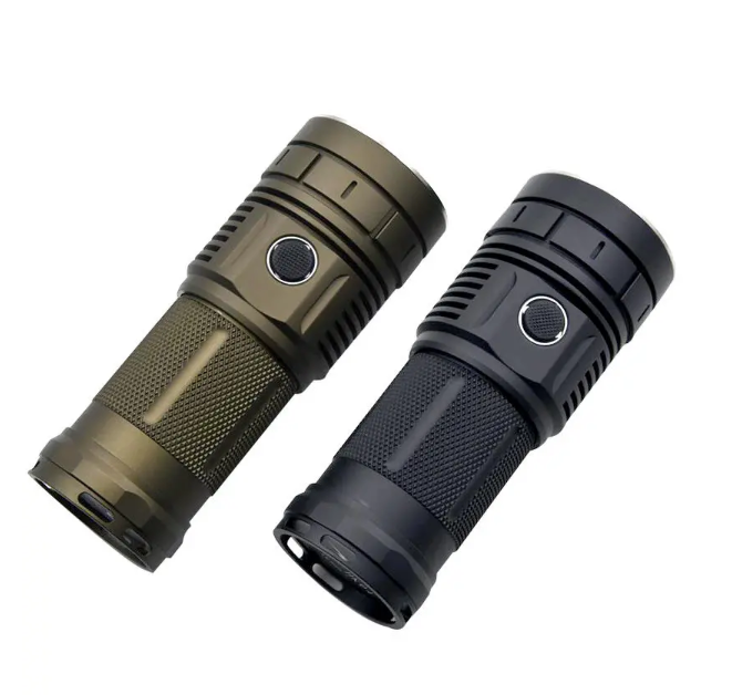 Haikelite Super Bright Flashlight For Camping Hiking Fishing Light High Lumen Waterproof IPX7 Long Lighting Range Camp