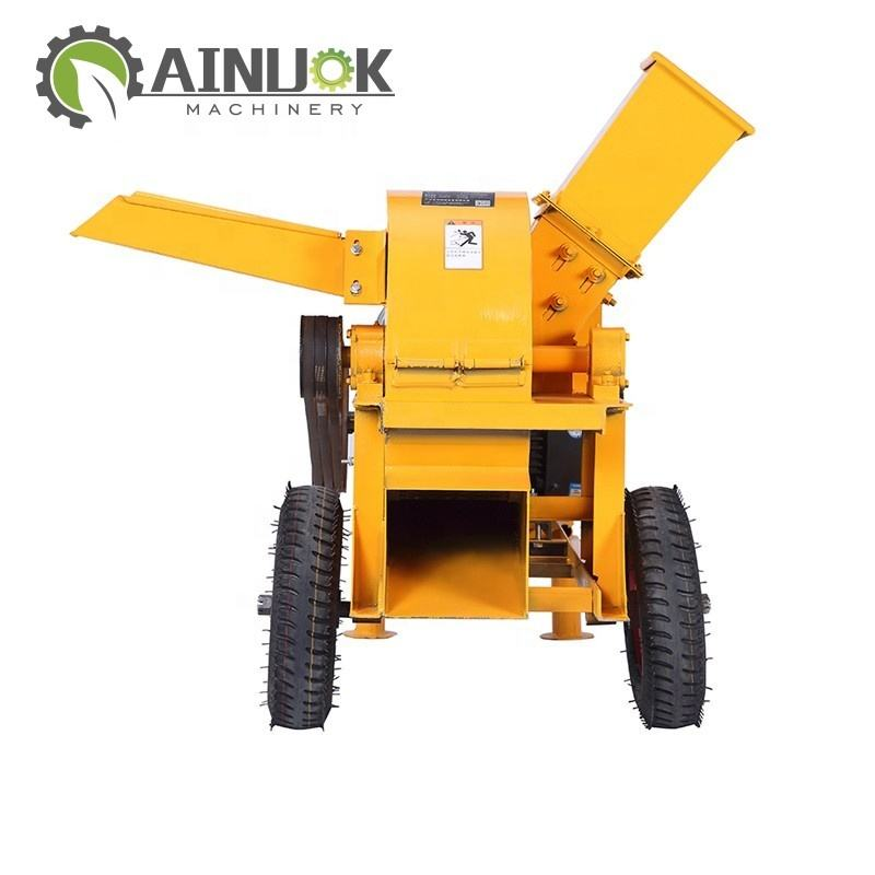 Wood logs Wood Waste Drum Chipper/Crusher