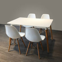 China Wholesale home furniture dining room set mdf square dinner table use for 6/8/12 seater dining table and chairs