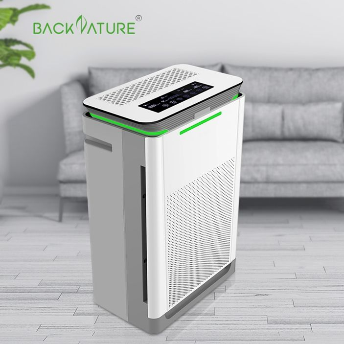 2020 Hepa CarbonフィルターAir Purifier Hotel Room Air PurifierとUV Light Optional