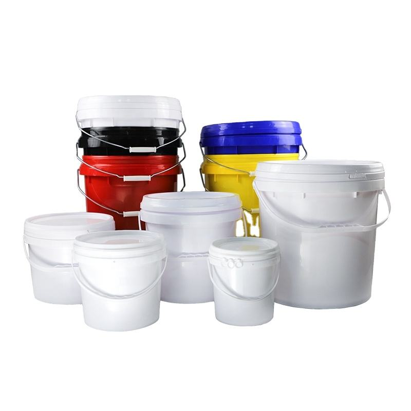 2L/4L/5L/6L/10L/18/20L HDPE made open top plastic stacking drums/pails/barrels