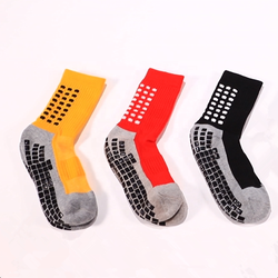 anti slip soccer socks elite football socks crew men sports socks