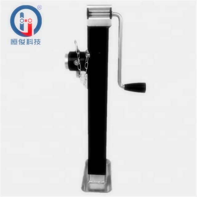 2000LBS heavy duty square tube trailer jack with pipe mount for small vehicle car jack
