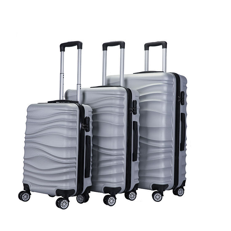 Big aluminium trolley pilot travelling box luggage suitcase sets box