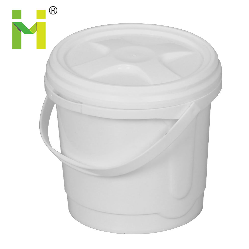 Food Grade Hot Sale plastic cookie packing pail snack pail Ice Bucket Price with handle