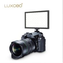 LUXCEO P02 Video Film Equipment 1000LM CRI95 Hot Shoe Mount Power Bank LED Camera Video Photography Light