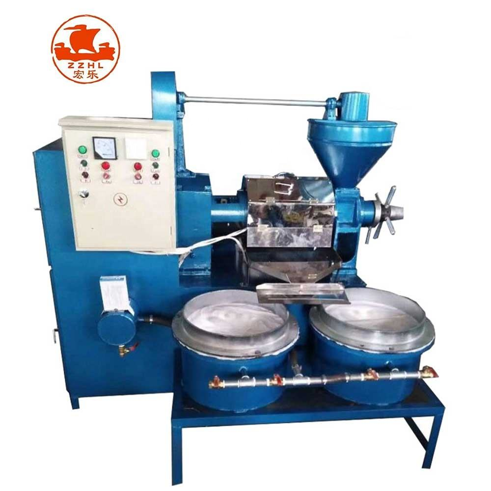 Peanut Oil Press Machine Price Plant Small Scale Cold Sunflower Olive Coconut Oil Press Extraction Machine