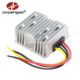 High quality aluminum housing boost 12v dc to 24v dc converter 10a for trucks
