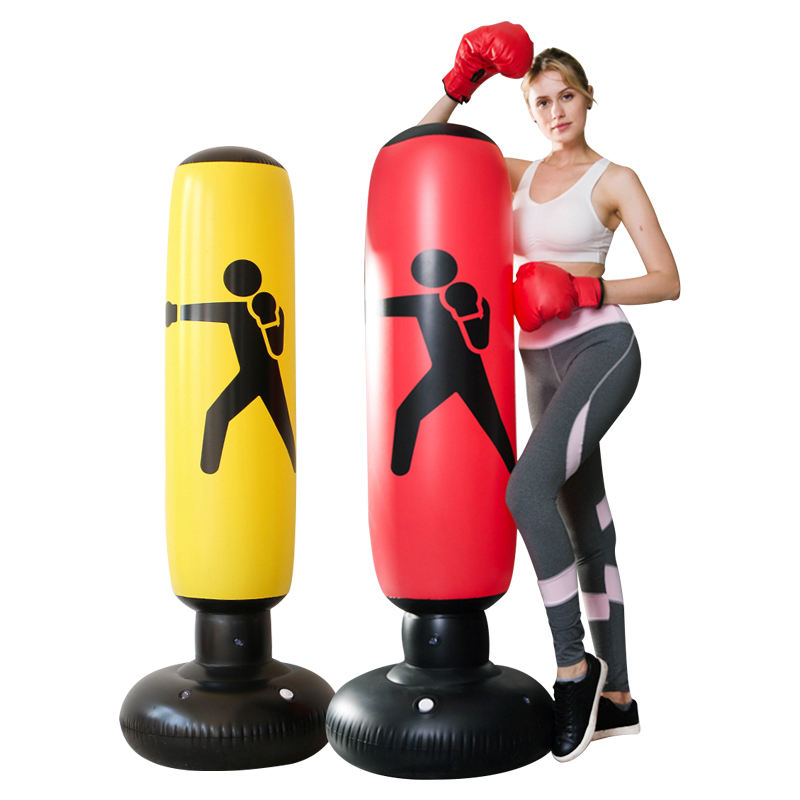 Large Home Gym Equipment Custom Human Adult Kids kick child inflatable boxing Freestanding Punching Bag