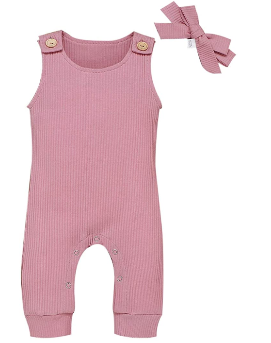 Factory direct sale kids boutique costume 100%cotton organic playsuit jumpsuit newborn sleeveless romper