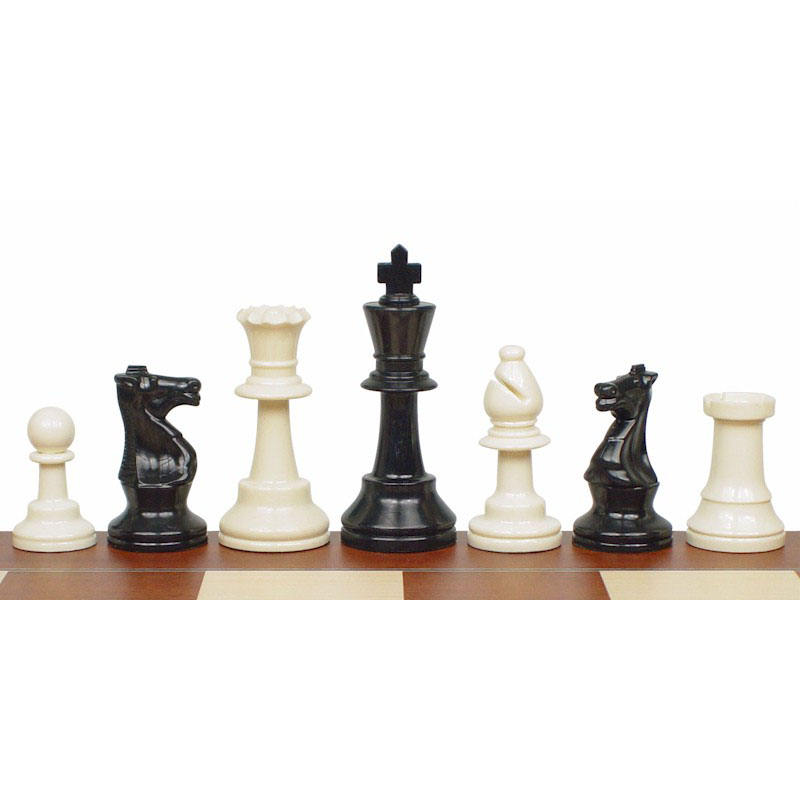Tournament Standard Club plastic Chess Pieces and Chess man