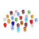 Glass Bead Czech Glass Beads 70-300pcs 3/4/6/8mm Translucent Czech Crystal Glass Bead Faceted Colorful Spacer Bead For DIY Bracelet Jewelry Making Supplies