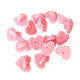 Heart Love Shape Rubber Clutches Backing Clasp For Enamel Lapel Pin