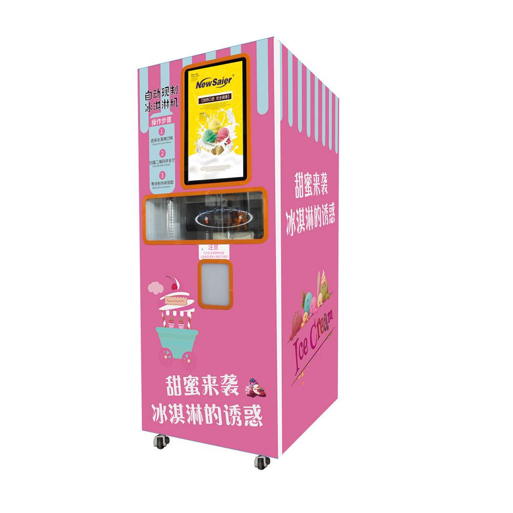 factory price wholesale commercial soft ice cream vending machine for commercial use