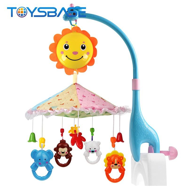 Unique Toys for Baby Amazon | Infant Crib Cot Musical Bed Bell | Plastic Rotating Hanging Toy Baby Mobile