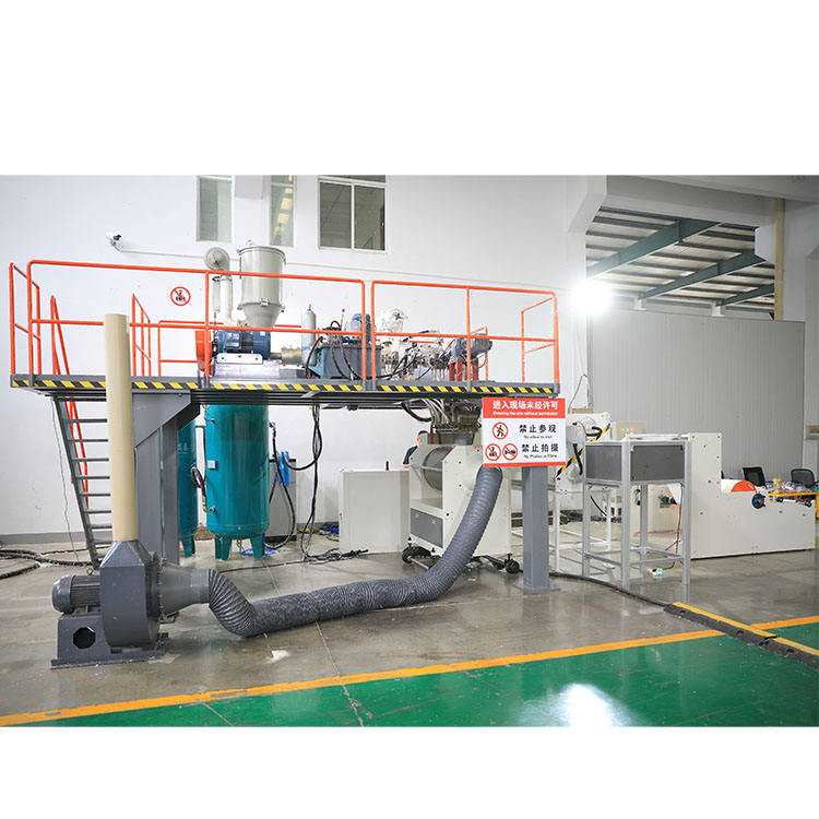 Meltblown nonwoven fabric maker machine