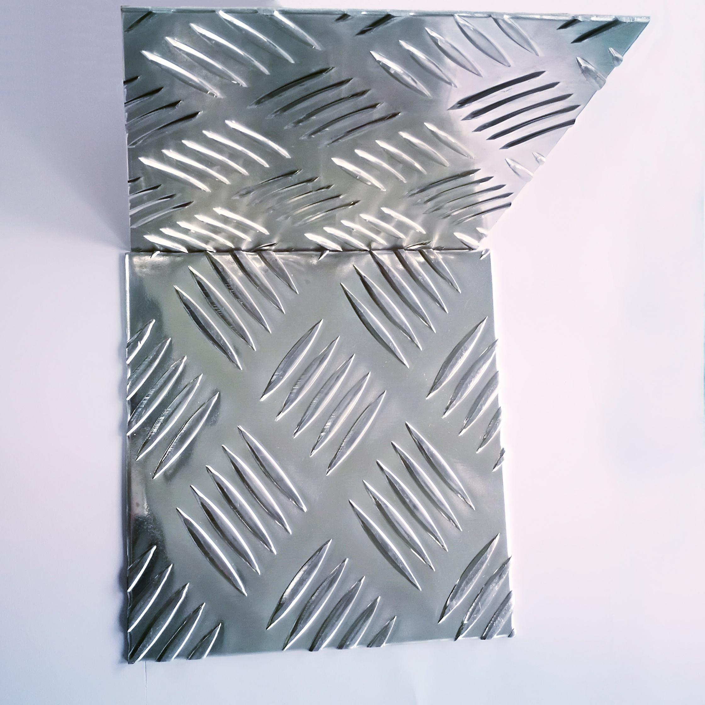 Lanren alüminyum desen sırt plakası araba platformu