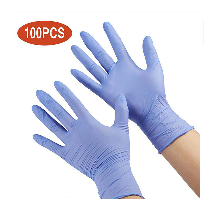 Hot sale 100 Pcs kids nitrile disposable gloves 4-12 years comfortable latex free children gloves for civil