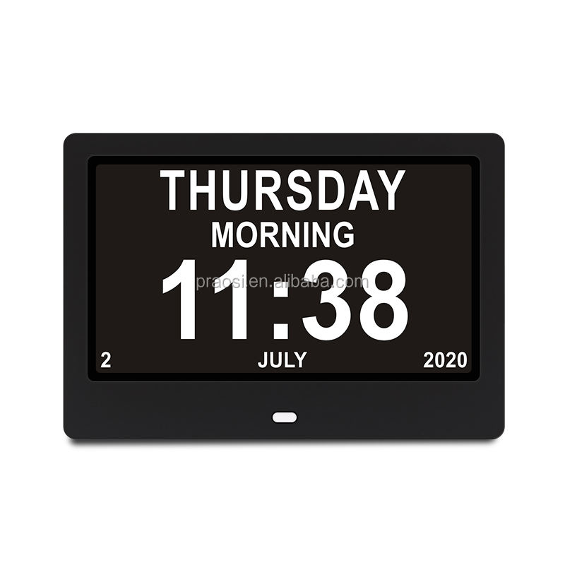 Table Digital Calendar Day Clock Dementie Klok With Dutch Multi Languages For Netherlands Market