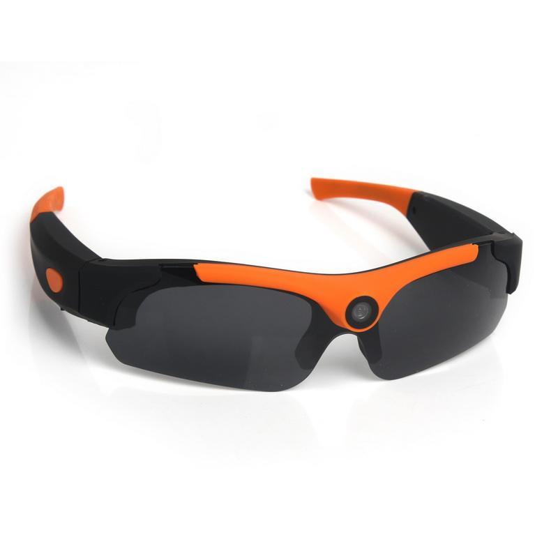 Wide Angle 1080P sunglasses camera waterproof Video Recording Sport Sunglasses