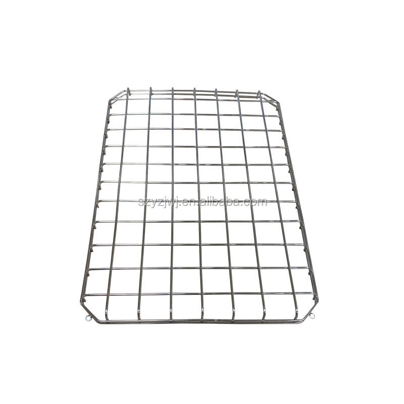 Metal Chinese Fruit Stainless Steel Wire Basket For Sundries