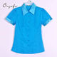Good quality various color women blouse branded apparel stock