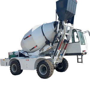 New CM3500R 3.5cbm mobile concrete mixer machine with self loading from china prices for sale