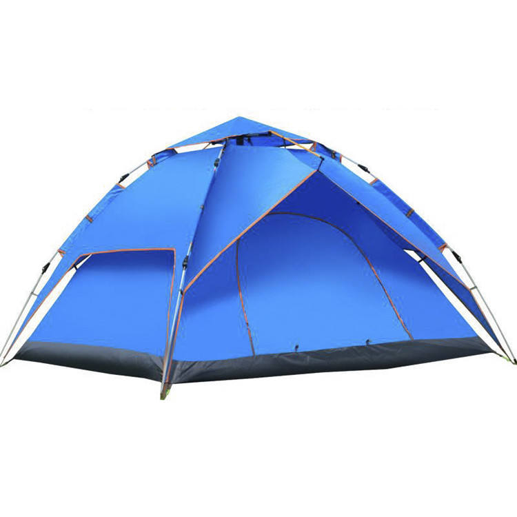 EWT008 good price double layers nylon fabric outdoor waterproof tents camping